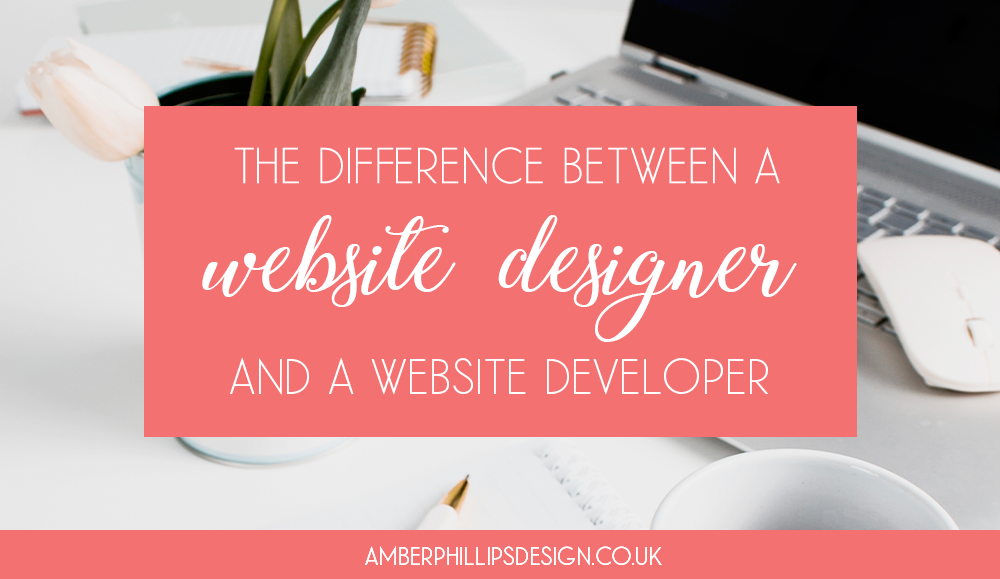 The Difference Between a Website Designer and a Website Developer
