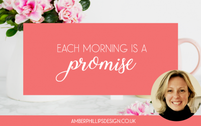 Wellbeing in business – Each morning is a promise – by Aneta Idczak