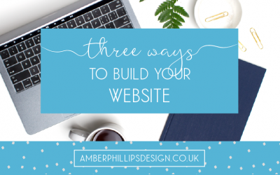Three ways to build your website
