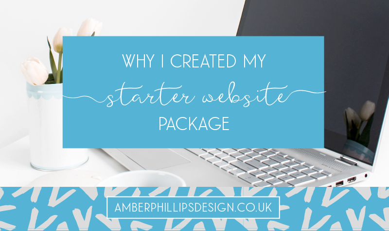 Why I created my Starter Website Package