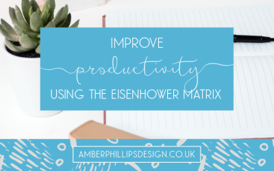 Improve productivity using the Eisenhower Matrix